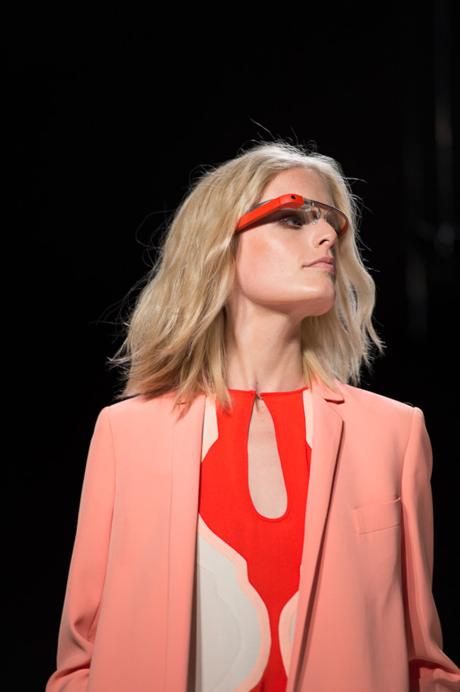 Google Glass hits the catwalk as models strut their high tech stuff - photo 5