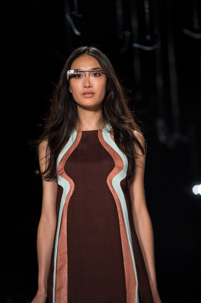 Google Glass hits the catwalk as models strut their high tech stuff - photo 7