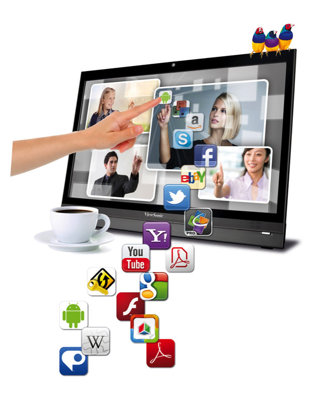 ViewSonic VSD220: 22-inch Android touchscreen PC - photo 2