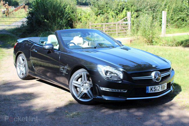 Mercedes-Benz SL63 AMG pictures and hands-on - photo 2