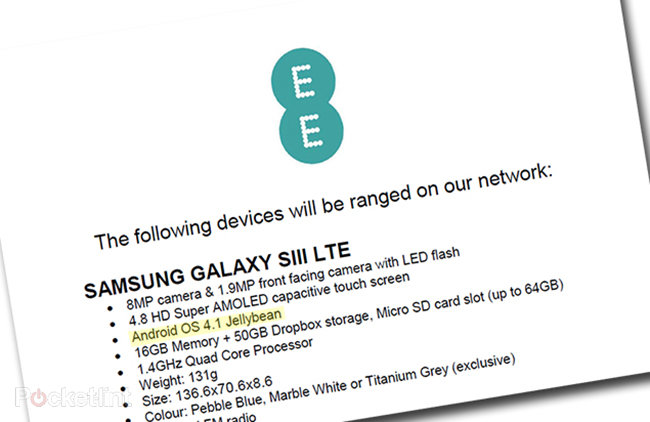 EE confirms Jelly Bean update for Samsung Galaxy S3, and exclusive titanium grey edition - photo 13