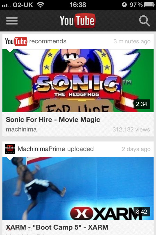 APP OF THE DAY: YouTube review (iPhone / iPod touch) - photo 5