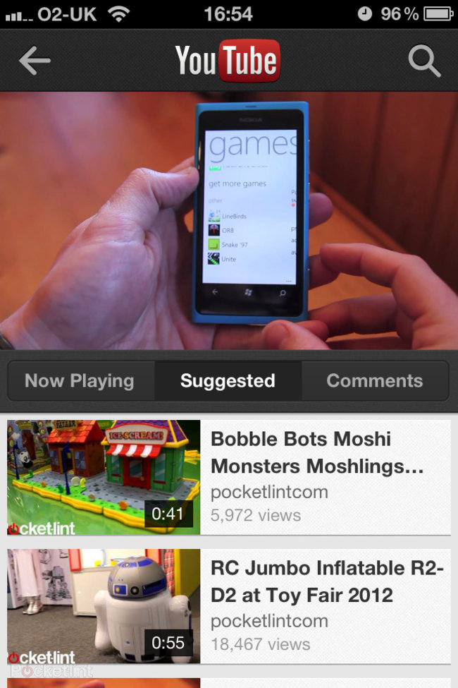 APP OF THE DAY: YouTube review (iPhone / iPod touch) - photo 9