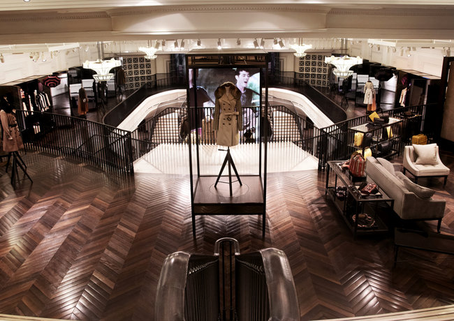 The Burberry flagship store that makes the Apple Store look Victorian   - photo 14