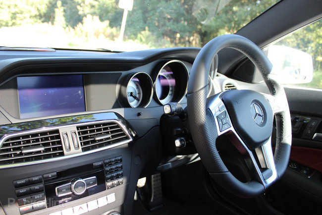 Mercedes-Benz C220 CDi BlueEfficiency AMG Sport Coupe pictures and hands-on - photo 15