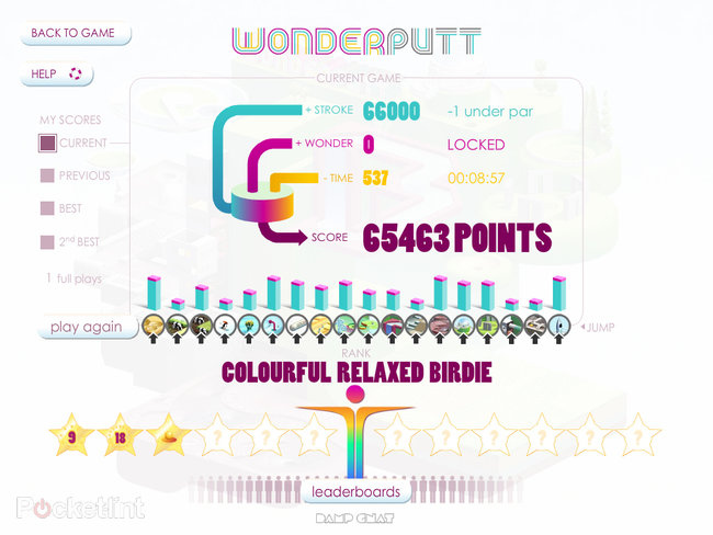 APP OF THE DAY: Wonderputt review (iPad) - photo 13