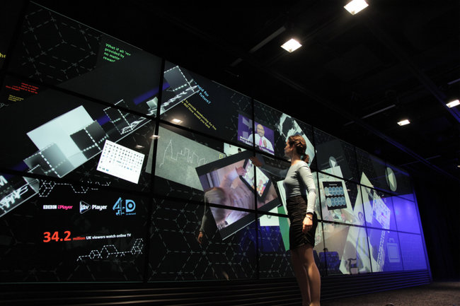 World's biggest touchscreen shown-off, sadly it won't fit in your pocket (video) - photo 1