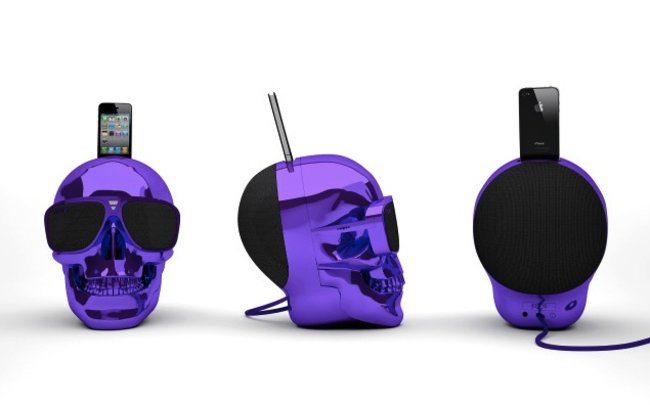 Jarre Aeroskull docking speaker really is shaped like a skull - photo 1