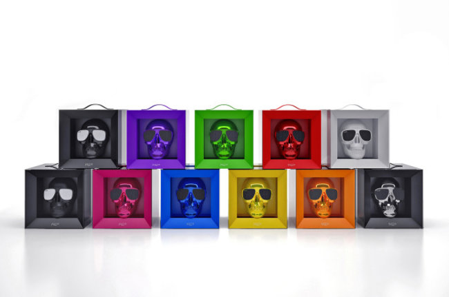 Jarre Aeroskull docking speaker really is shaped like a skull - photo 2