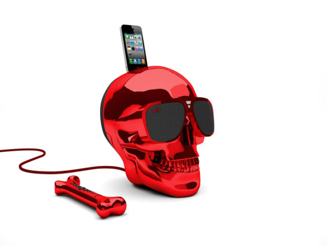 Jarre Aeroskull docking speaker really is shaped like a skull - photo 6