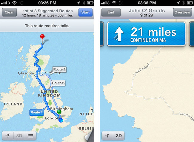 iOS 6 maps explored - photo 3