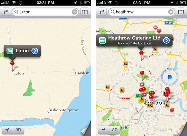 iOS 6 maps explored - photo 6