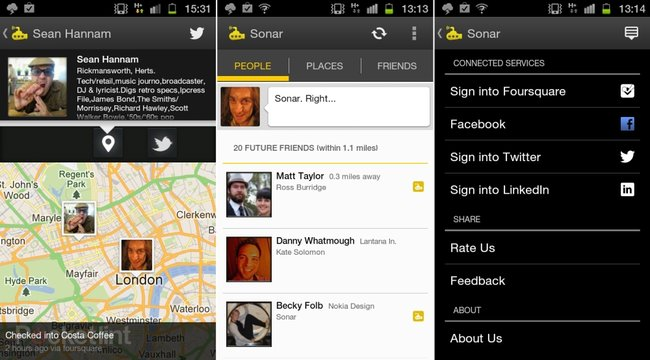 APP OF THE DAY: Sonar: Friends Nearby review (iOS and Android) - photo 3