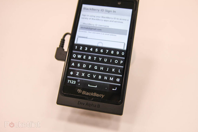 BlackBerry 10 and the Alpha Dev B pictures and hands-on - photo 6