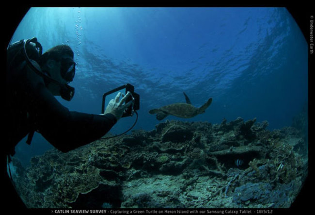 Google Street View becomes...Ocean View with underwater maps of the sea - photo 3