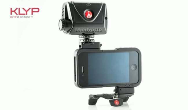 Klyp iPhone cover comes with tripod and flash for improved camera experience - photo 2