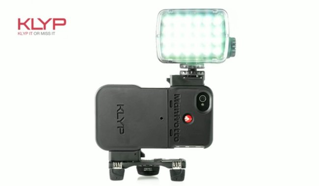 Klyp iPhone cover comes with tripod and flash for improved camera experience - photo 4