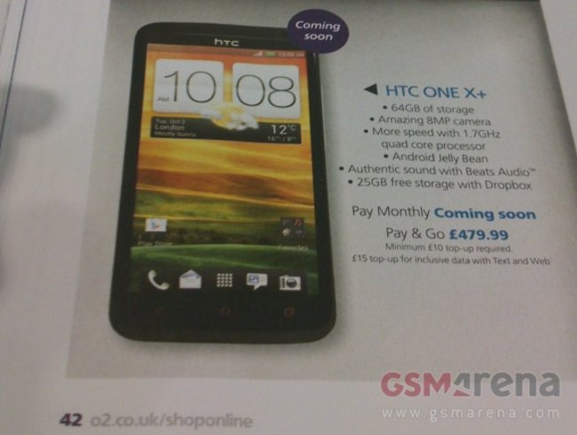 Meet the HTC One X+ - photo 4