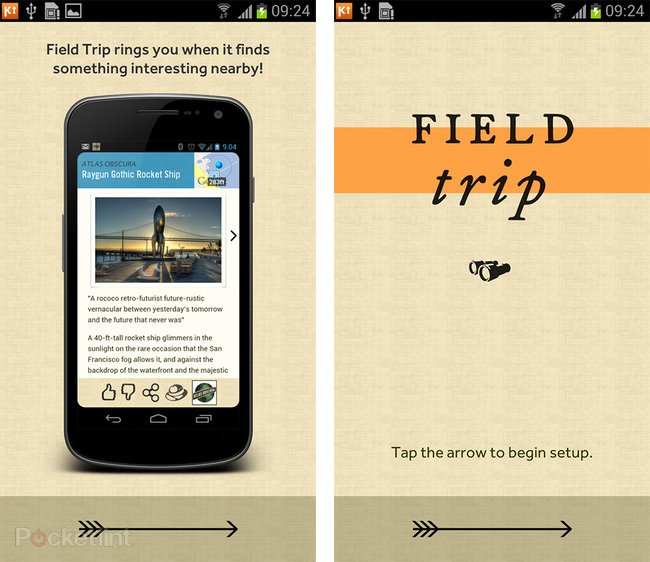 Google Field Trip app pictures and hands-on - photo 2
