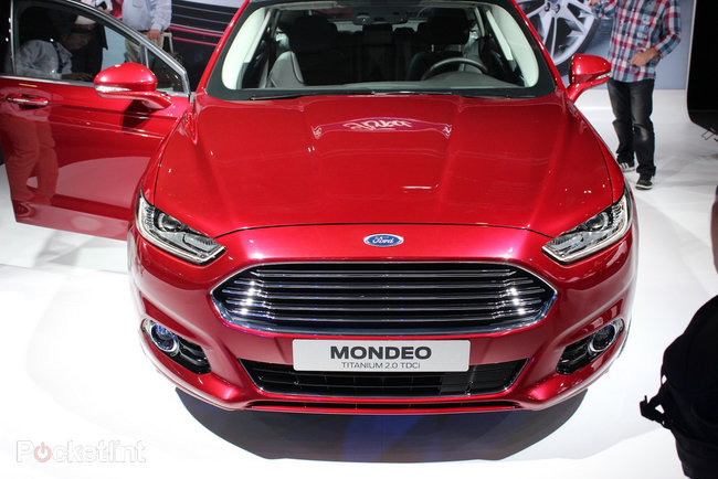 Ford Mondeo (2013) pictures and hands-on - photo 12