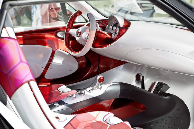 Smart Forstars concept car unveiled, the urban vehicle with built-in home cinema projector - photo 4