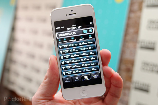 iPhone 5 4G EE UK: What sort of speeds can you expect? (video)  - photo 2