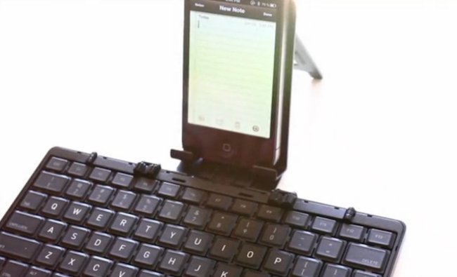 Foldable Bluetooth keyboard that can fit in your pocket looks for Kickstarter funding - photo 1