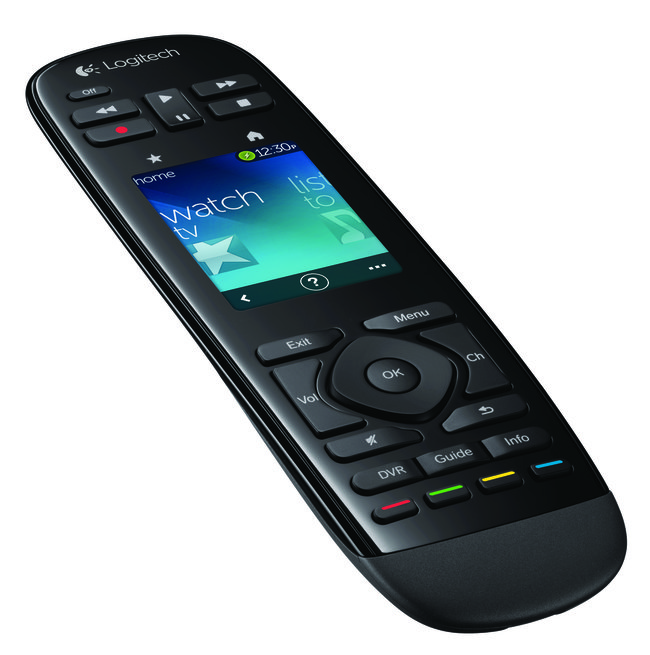 Logitech shows off the Harmony Touch TV remote, complete with mini touchscreen interface - photo 2