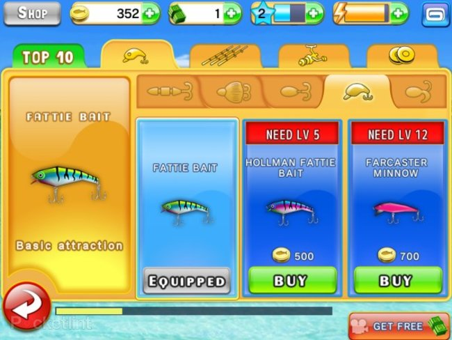 APP OF THE DAY: Fishing Kings Free+ review (iPad and iPhone) - photo 3