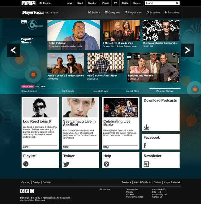 BBC iPlayer Radio launches as dedicated app for smartphone, tablet and PC - photo 6