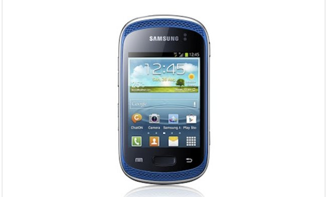 Samsung reveals budget friendly Galaxy Music smartphone - photo 1
