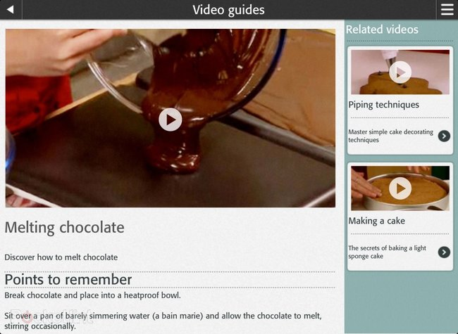 APP OF THE DAY: BBC Good Food - Recipes, tools and cooking tips review (iPad and iOS) - photo 3