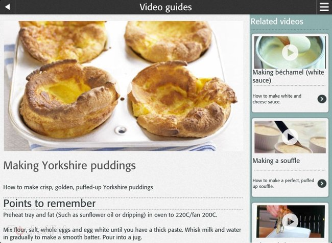 APP OF THE DAY: BBC Good Food - Recipes, tools and cooking tips review (iPad and iOS) - photo 4