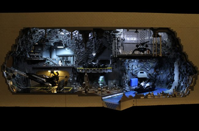 Holy Cow Batman! 20,000 brick Lego Batcave will make you want to be the Dark Knight for real   - photo 6