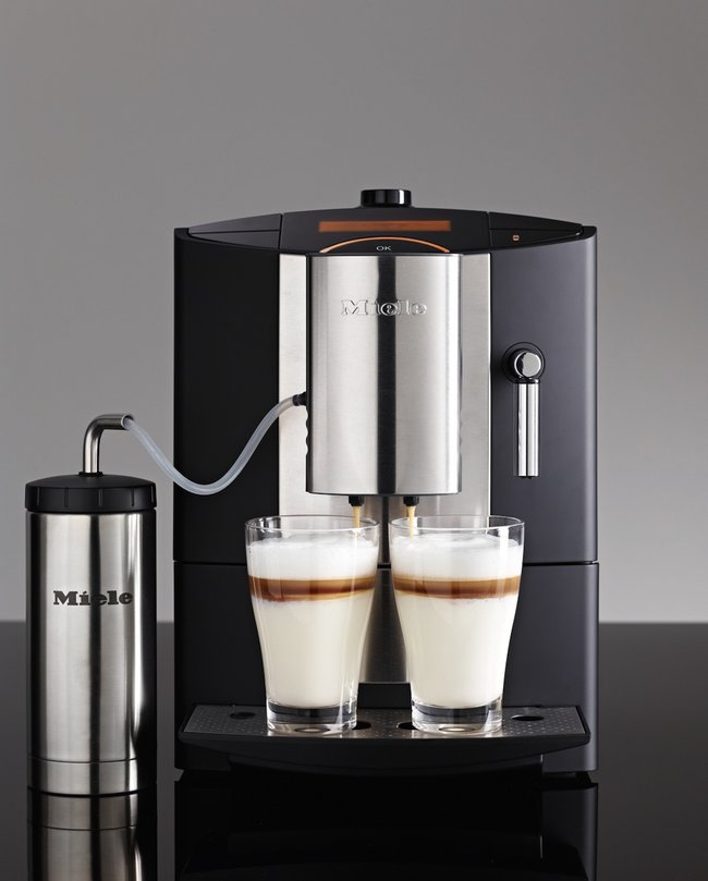 Miele CM5200 Barista Machine has a double spout for simultaneous coffee making  - photo 3