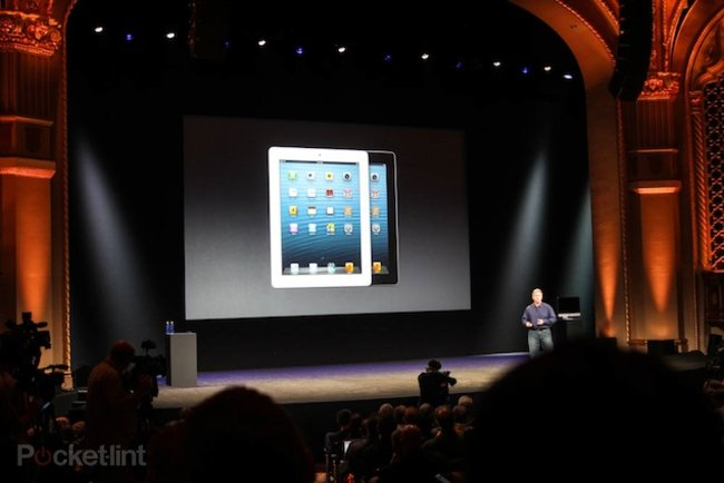 Apple shocks everyone with iPad 4, adds 4G connectivity for UK - photo 1
