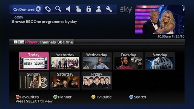 BBC iPlayer now on Sky+ - photo 2