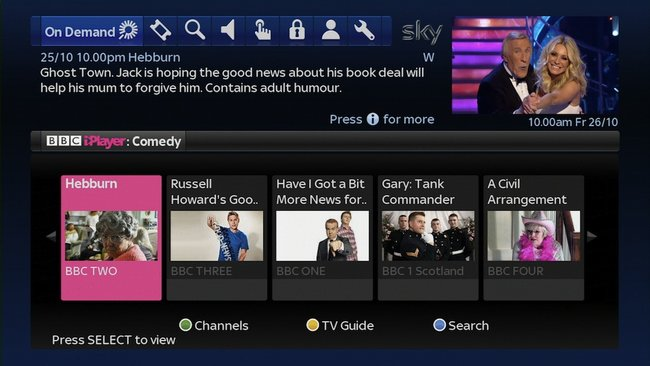 BBC iPlayer now on Sky+ - photo 3