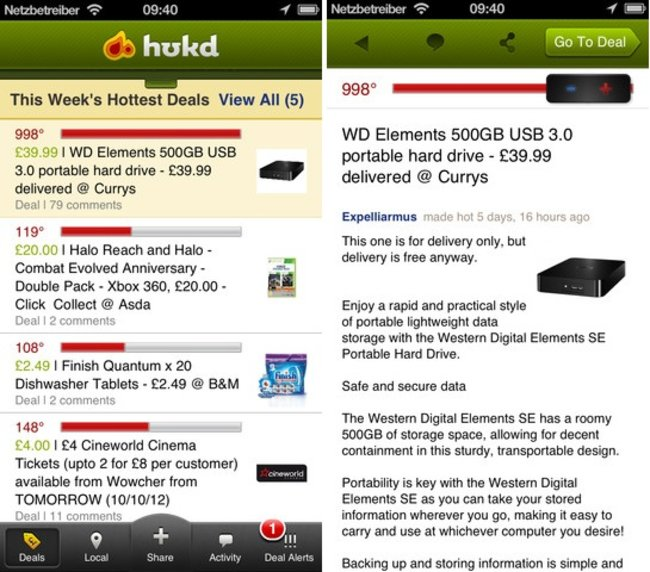 APP OF THE DAY: HotUKDeals review (iOS and Android) - photo 2