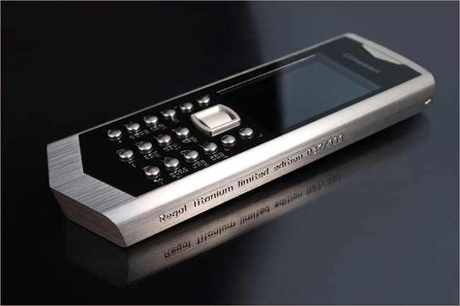 Symbian still going strong in $4,500 Gresso Regal Titanium - photo 1