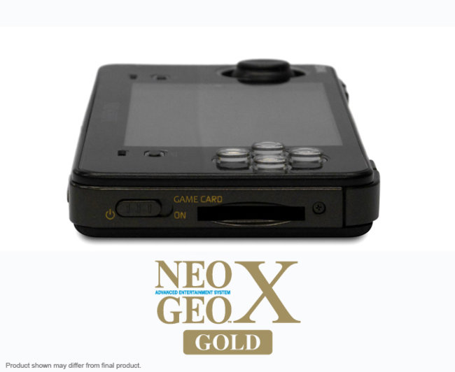NeoGeo X Gold Limited Edition coming to UK 6 December, priced £175 - photo 3