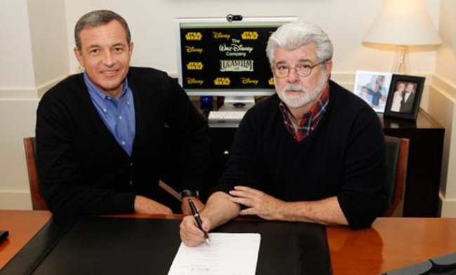 New Star Wars film announced for 2015 as Disney acquires Lucasfilm - photo 2