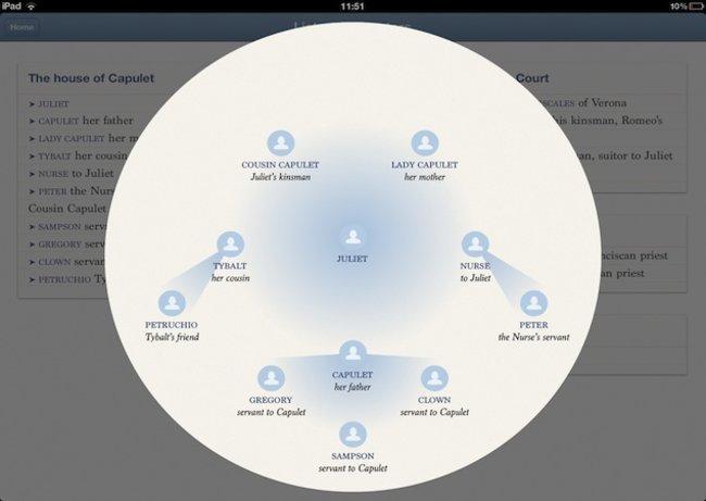 Romeo & Juliet comes to life on the iPad with interactive Explore Shakespeare app - photo 1
