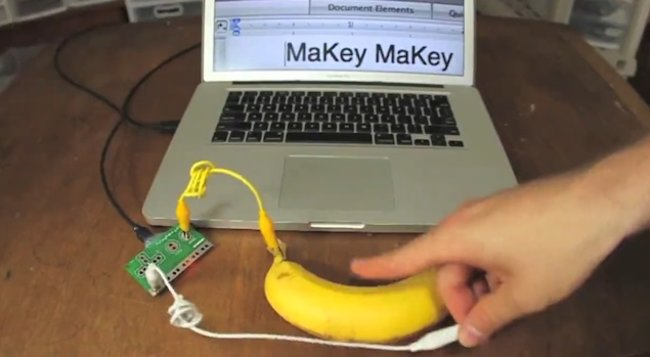MaKey MaKey kit turns everyday objects into actual computer controllers (video) - photo 1