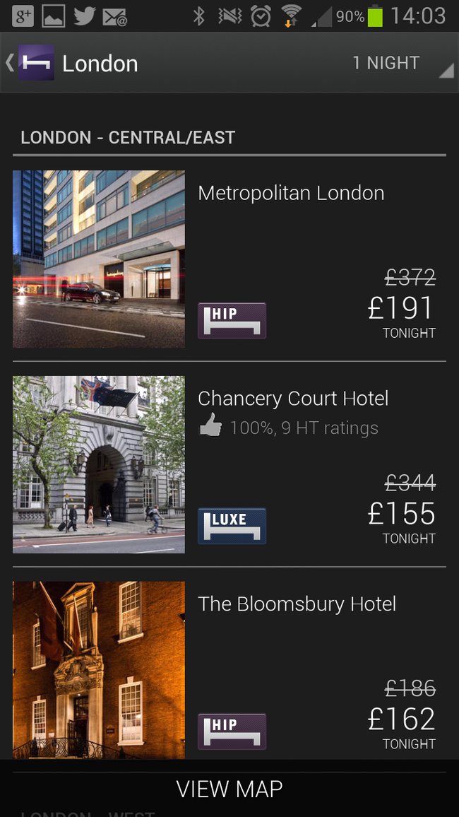 APP OF THE DAY: Hotel Tonight review (iOS / Android) - photo 5