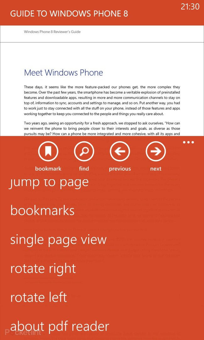 Windows Phone 8 Microsoft PDF Viewer app available for download - photo 3