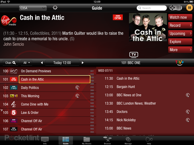Hands-on: Virgin TV Anywhere app review (iOS) - photo 2