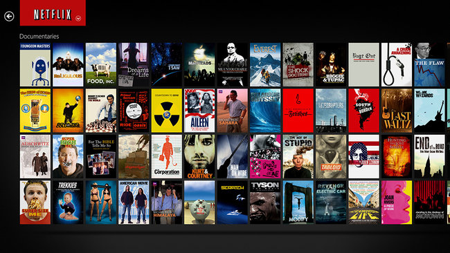 APP OF THE DAY: Netflix review (Windows 8) - photo 1