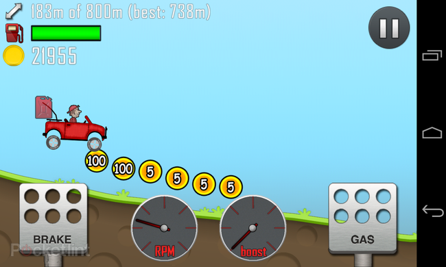 APP OF THE DAY: Hill Climb Racing review (Android) - photo 2