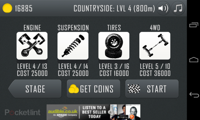 APP OF THE DAY: Hill Climb Racing review (Android) - photo 5